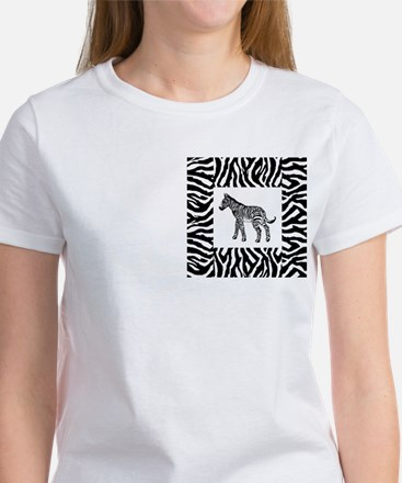 Zebra Women's T-Shirt