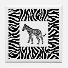 Zebra Tile Coaster