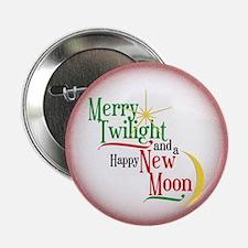 "Twilight New Moon Christmas 2.25"" Button - 10"