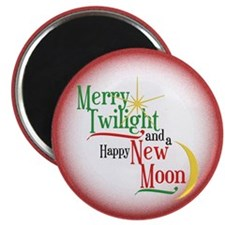 Twilight New Moon Christmas Magnet