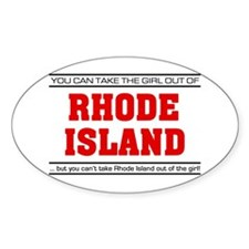 'Girl From Rhode Island' Decal