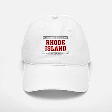 'Girl From Rhode Island' Baseball Baseball Cap