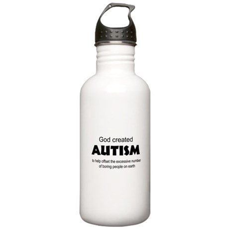 Autism offsets boredom Stainless Water Bottle 1.0L