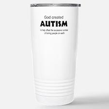 Autism offsets boredom Travel Mug