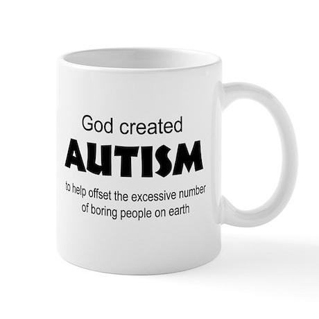 Autism offsets boredom Mug
