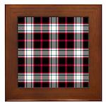 Tartan - Merrilees Framed Tile