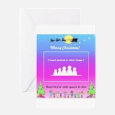 Custom Christmas Gifts Greeting Card