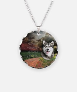 """""""Why God Made Dogs"""" Malamute Necklace"""