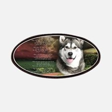 """Why God Made Dogs"" Malamute Patches"