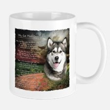 """Why God Made Dogs"" Malamute Small Small Mug"