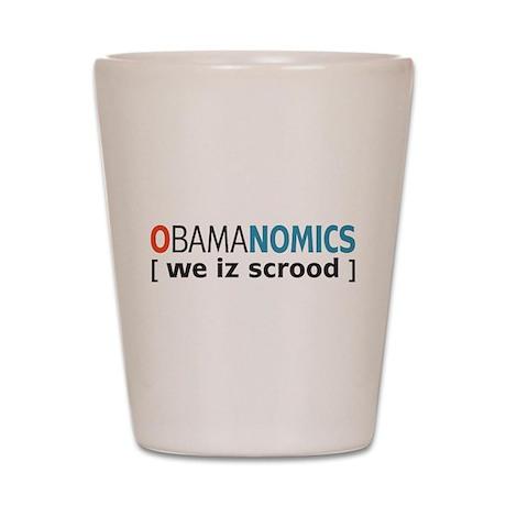 Anti - Obama Shot Glass