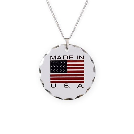 MADE IN U.S.A. Necklace Circle Charm