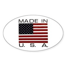 MADE IN U.S.A. Decal