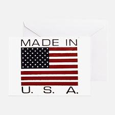 MADE IN U.S.A. Greeting Card