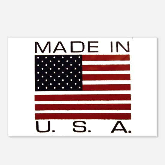 MADE IN U.S.A. Postcards (Package of 8)