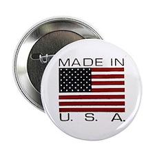"""MADE IN U.S.A. 2.25"""" Button"""