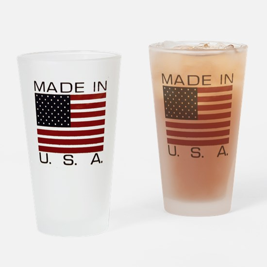 MADE IN U.S.A. Drinking Glass