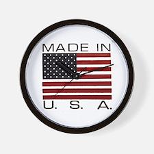 MADE IN U.S.A. Wall Clock