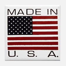 MADE IN U.S.A. Tile Coaster