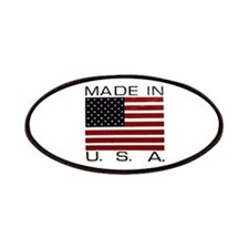 MADE IN U.S.A. Patches