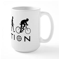 Evolution Of Bike Mug