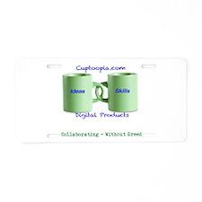 Funny Ebooks Aluminum License Plate