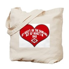 My Heart's In Maui Tote Bag