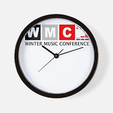 WMC 2012 Winter Music Confere Wall Clock