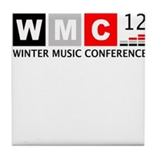 WMC '12 Winter Music Conferen Tile Coaster