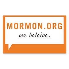 Mormon.org Stickers