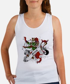 Grant Tartan Lion Women's Tank Top