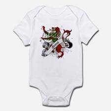 Grant Tartan Lion Infant Bodysuit