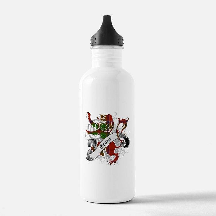 Grant Tartan Lion Water Bottle