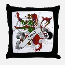 Grant Tartan Lion Throw Pillow