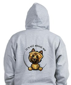Cairn Terrier Pocket IAAM Zip Hoody