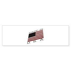 MADE IN U.S.A. CAMPAIGN IX Bumper Sticker