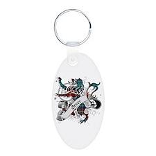 Greer Tartan Lion Keychains