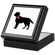 Labrador Retriever Breast Can Keepsake Box
