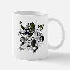 Gunn Tartan Lion Mug
