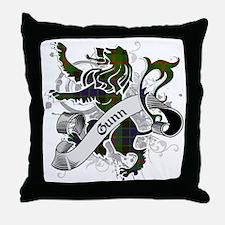 Gunn Tartan Lion Throw Pillow