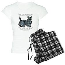 Scottie Logo Tail End Pajamas