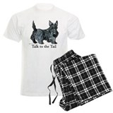 Scottish terrier Men's Light Pajamas