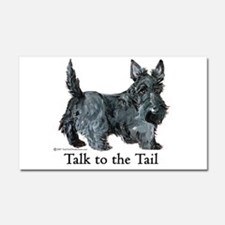 Scottish Terrier Attitude Car Magnet 20 x 12