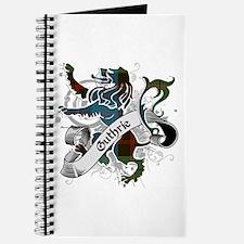 Guthrie Tartan Lion Journal