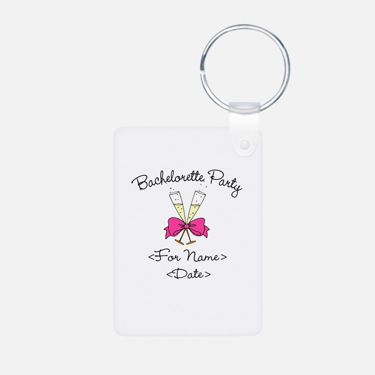 Bachelorette Party (Type In Name & Date) Aluminum