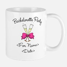 Bachelorette Party (Type In Name & Date) Small Small Mug