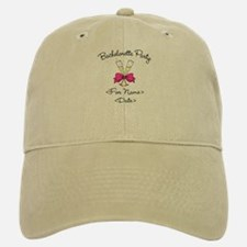 Bachelorette Party (Type In Name & Date) Baseball Baseball Cap