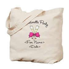 Bachelorette Party (Type In Name & Date) Tote Bag