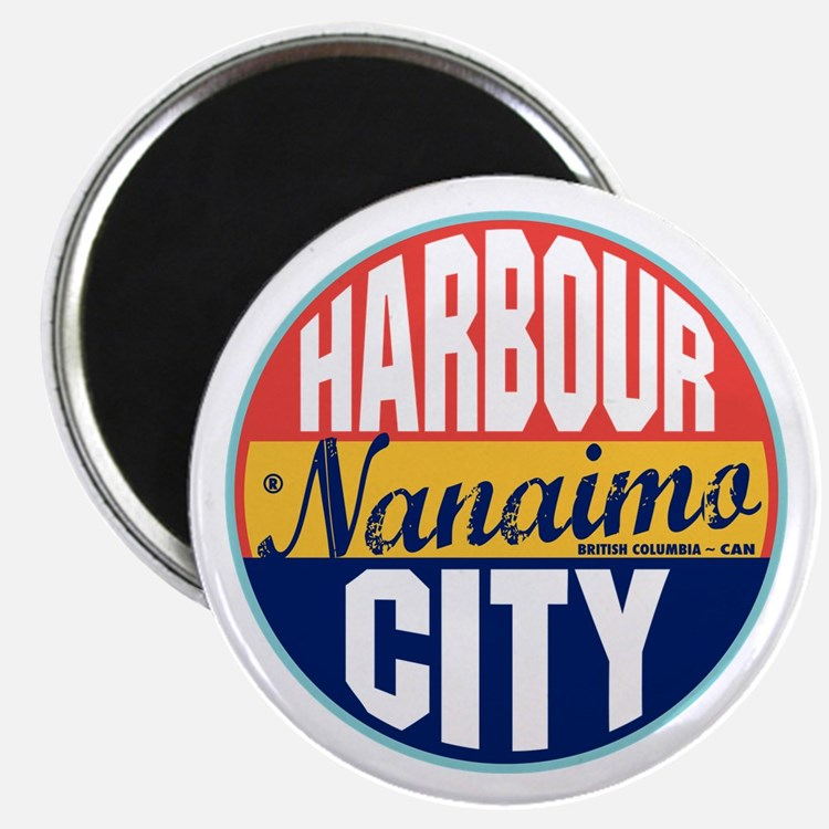 Nanaimo Vintage Label Magnet