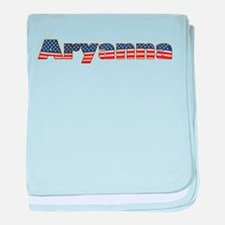 American Aryanna baby blanket
